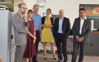 Le Board du RJC en visite au Laboratoire Français de Gemmologie