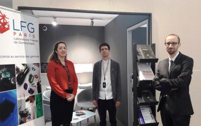 Le Laboratoire Français de Gemmologie participe à la 2 ème édition du Salon Gemgenève