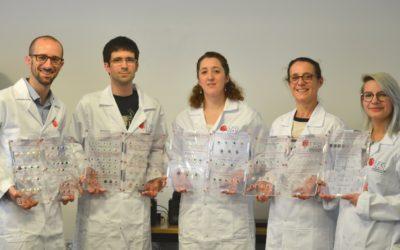 Un set de référence pour les opales au Laboratoire Français de Gemmologie